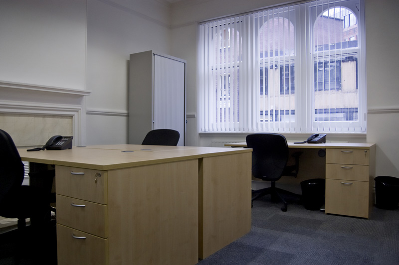 Short contract London office space